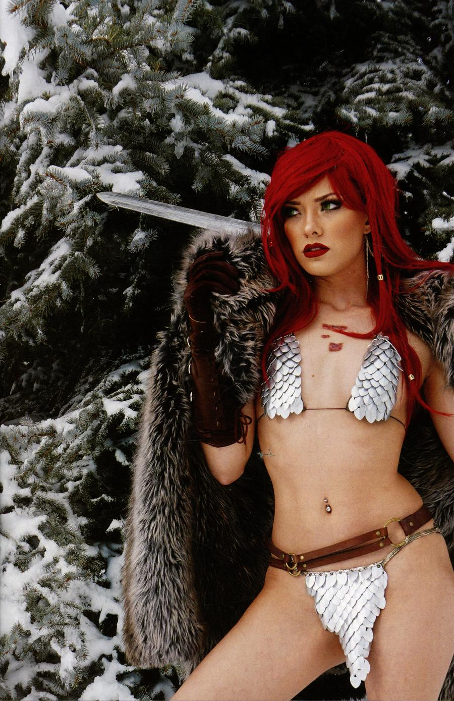 Red Sonja Vol 7 #23 Cover I Incentive Cosplay Photo Subscription Virgin Cover