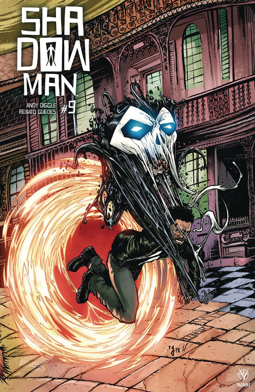 Shadowman Vol 5 #9 Cover E Incentive Ryan Lee Interlocking Variant Cover