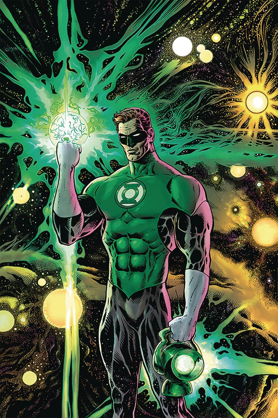 Green Lantern Vol 6 #1 Cover F DF Ultra-Limited Gold Signature Series Signed By Liam Sharp