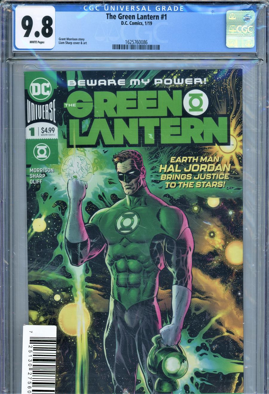 Green Lantern Vol 6 #1 Cover G DF CGC Graded