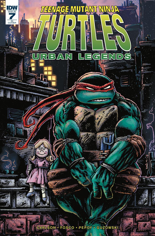 Teenage Mutant Ninja Turtles Urban Legends #7 Cover C Incentive Kevin Eastman Variant Cover