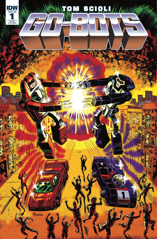 Go-Bots #1 Cover D Incentive Benjamin Marra Variant Cover
