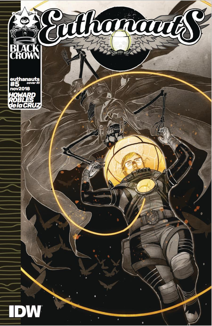 Euthanauts #5 Cover C Incentive Nick Robles Variant Cover