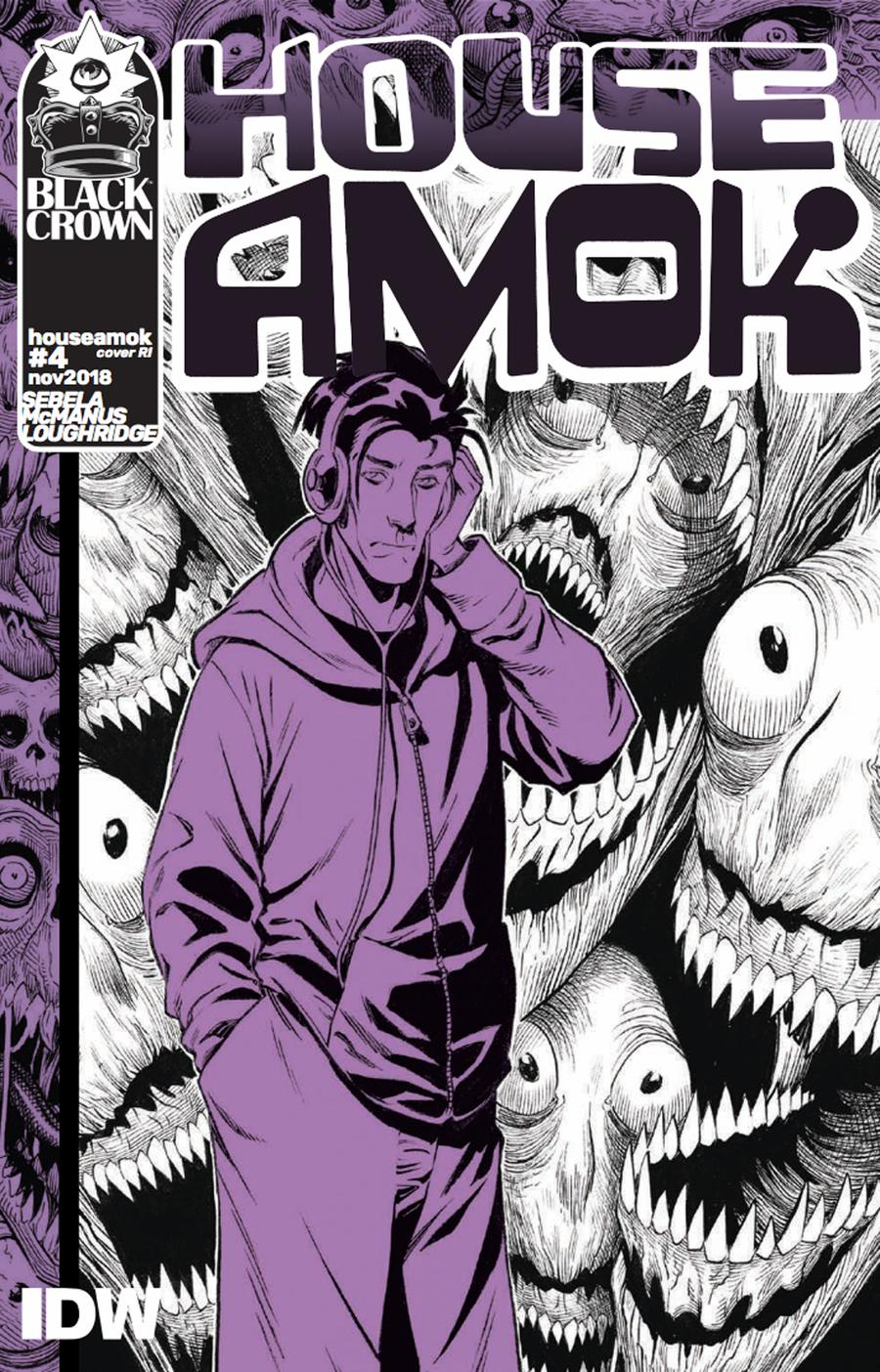 House Amok #4 Cover C Incentive Shawn McManus Variant Cover