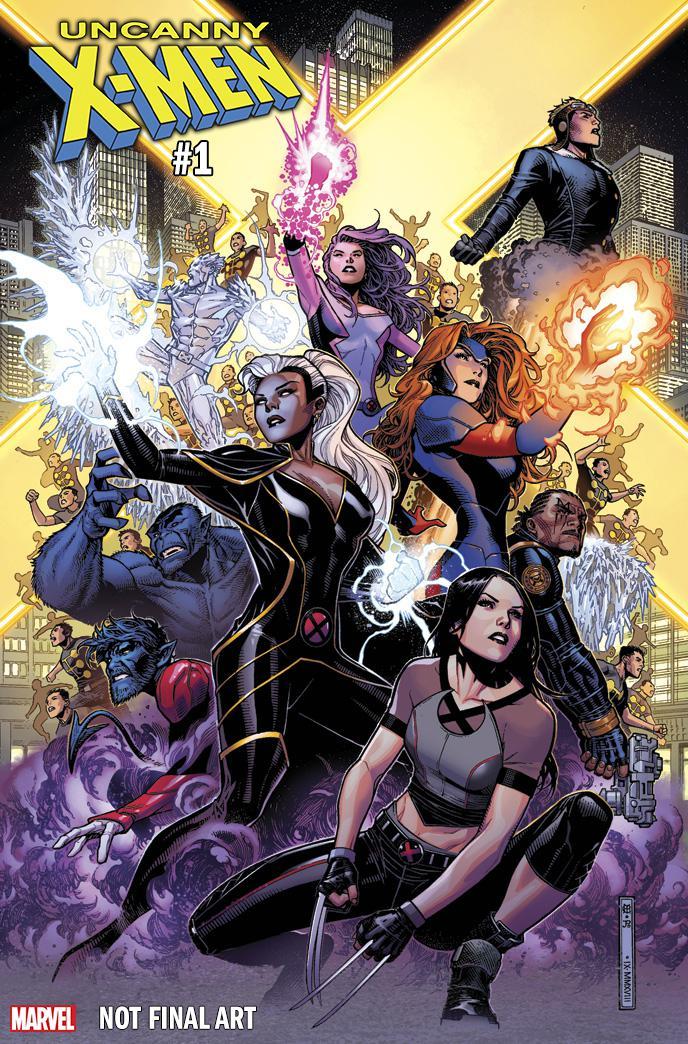 Uncanny X-Men Vol 5 #1 Cover N Incentive Jim Cheung Variant Cover