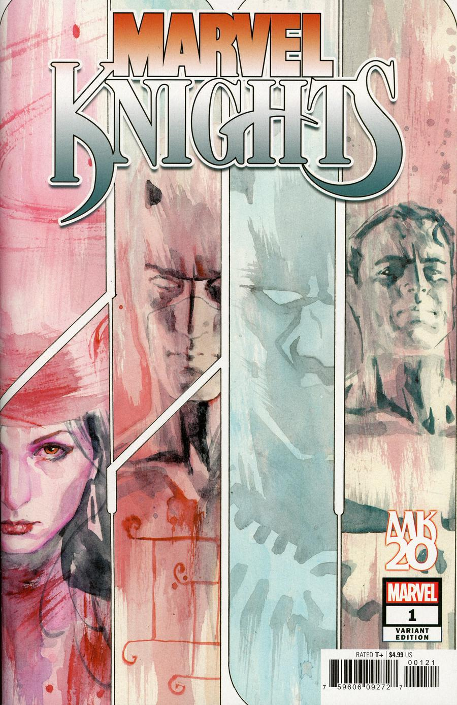 Marvel Knights 20th #1 Cover E Incentive David Mack Variant Cover