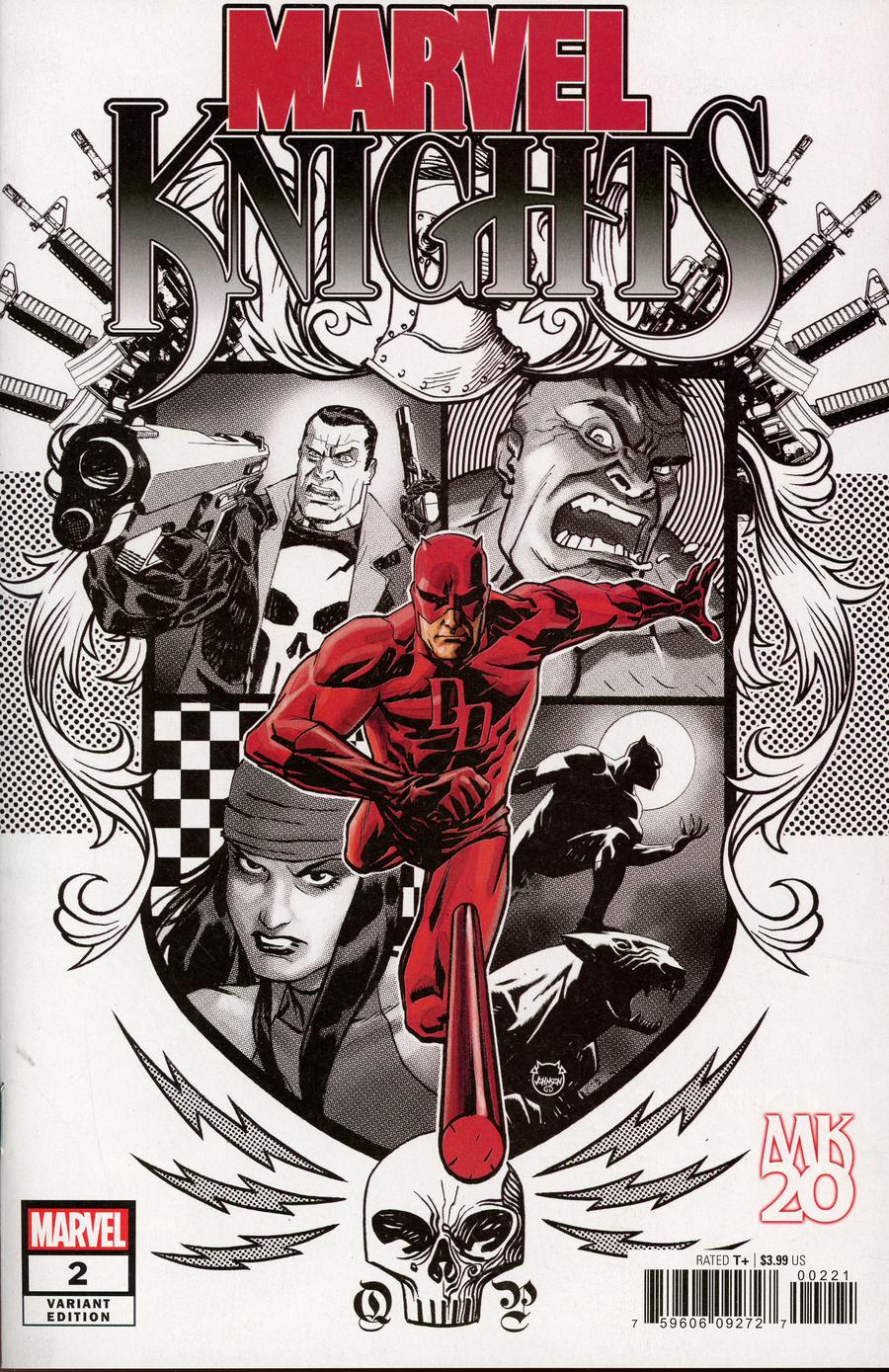 Marvel Knights 20th #2 Cover D Incentive Dave Johnson Variant Cover