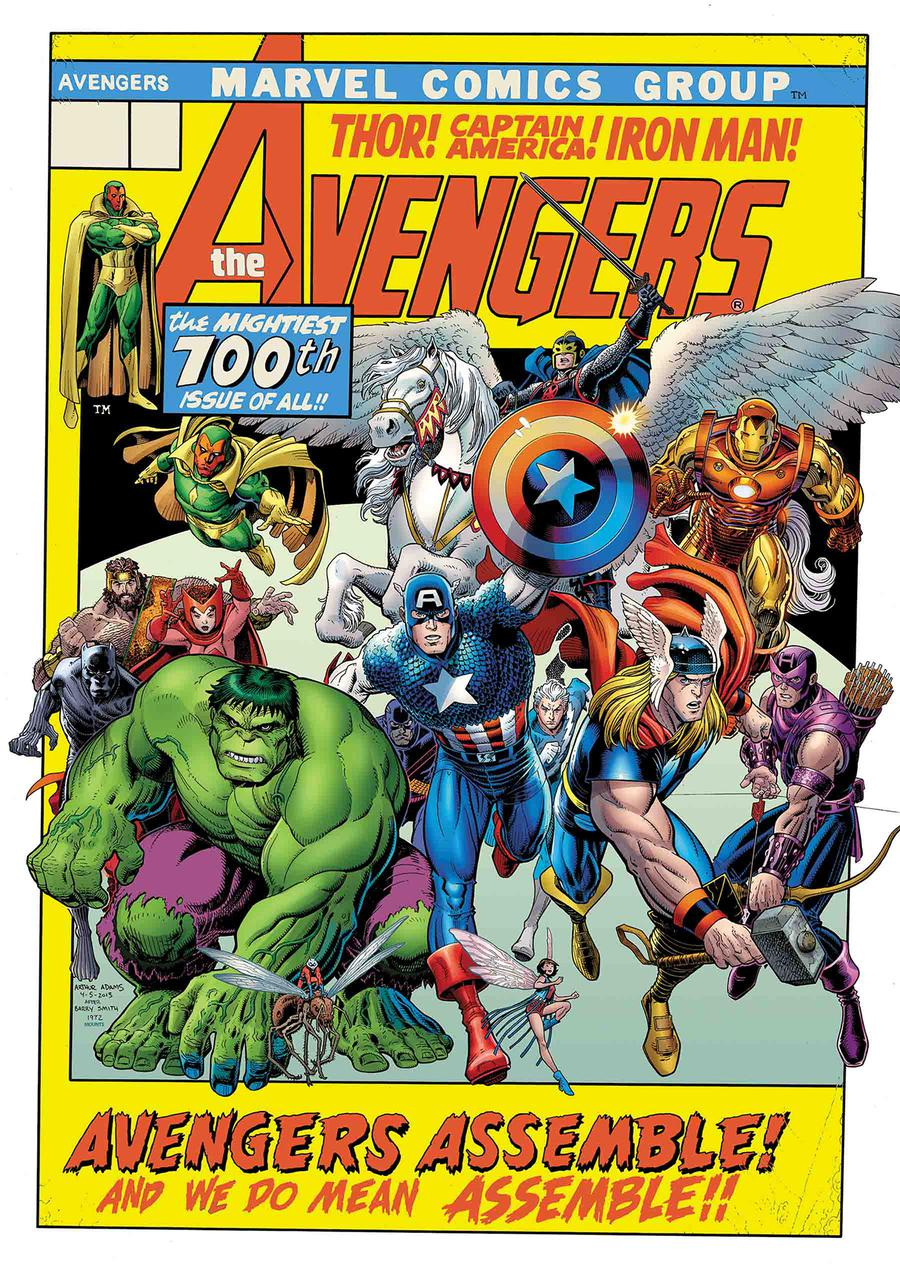 Avengers Vol 7 #10 Cover I Incentive Arthur Adams Variant Cover (#700)