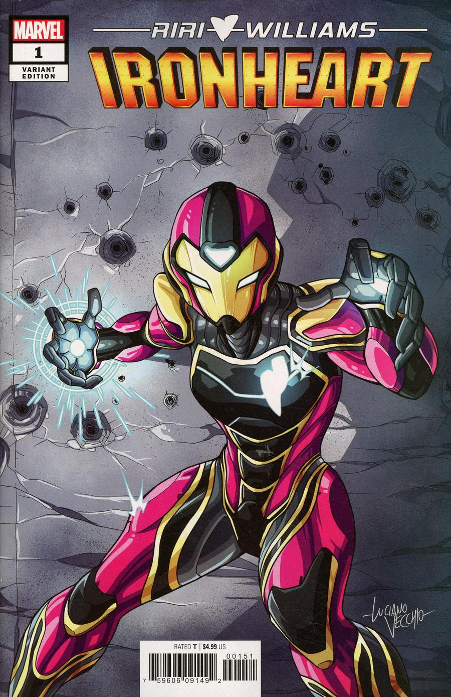 Ironheart #1 Cover D Incentive Luciano Vecchio Variant Cover