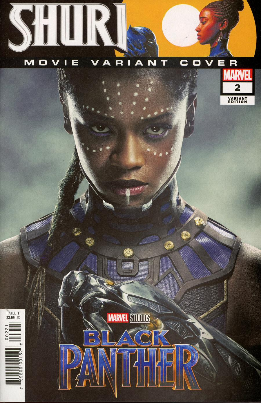 Shuri #2 Cover B Incentive Movie Variant Cover