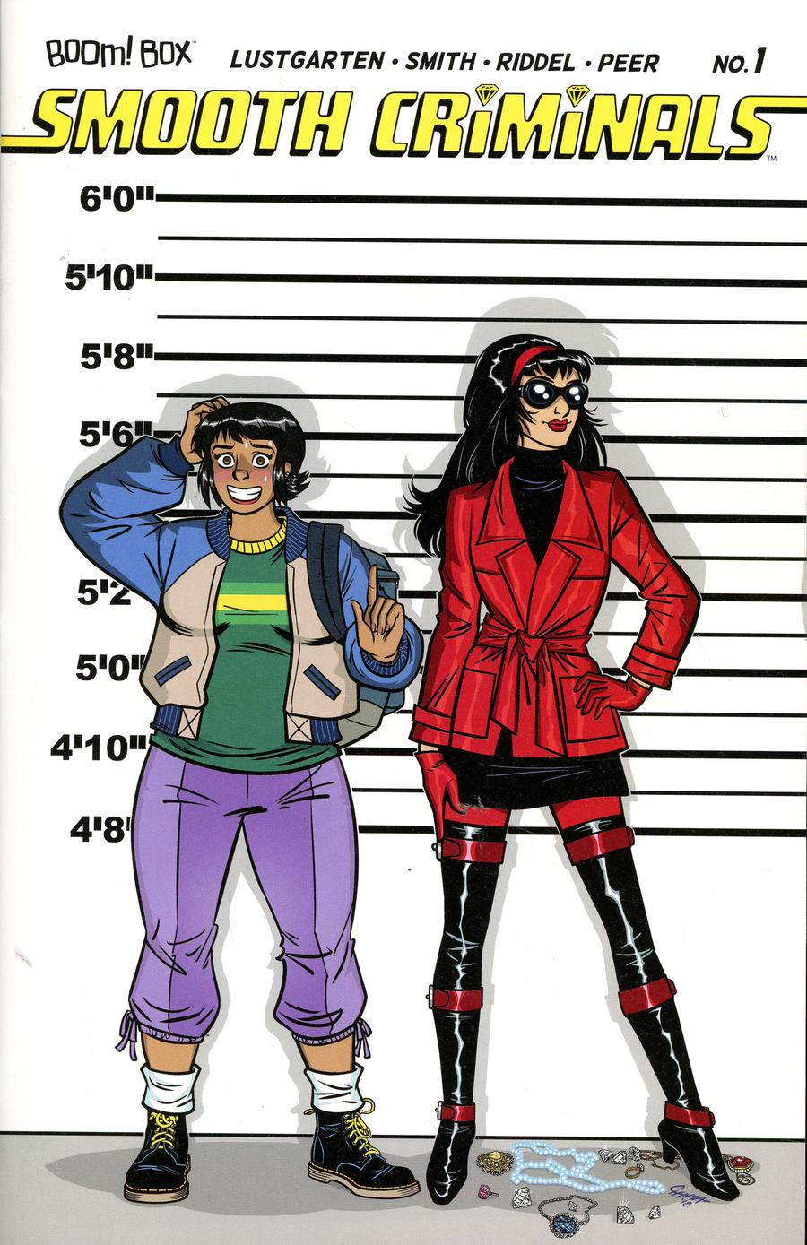 Smooth Criminals #1 Cover C Incentive Chynna Clugston Flores Virgin Variant Cover
