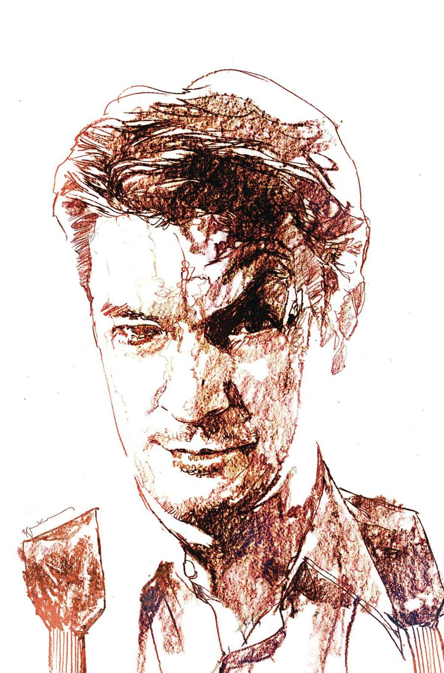 Firefly #1 Cover I Incentive Bill Sienkiewicz Virgin Variant Cover Signed By Joss Whedon