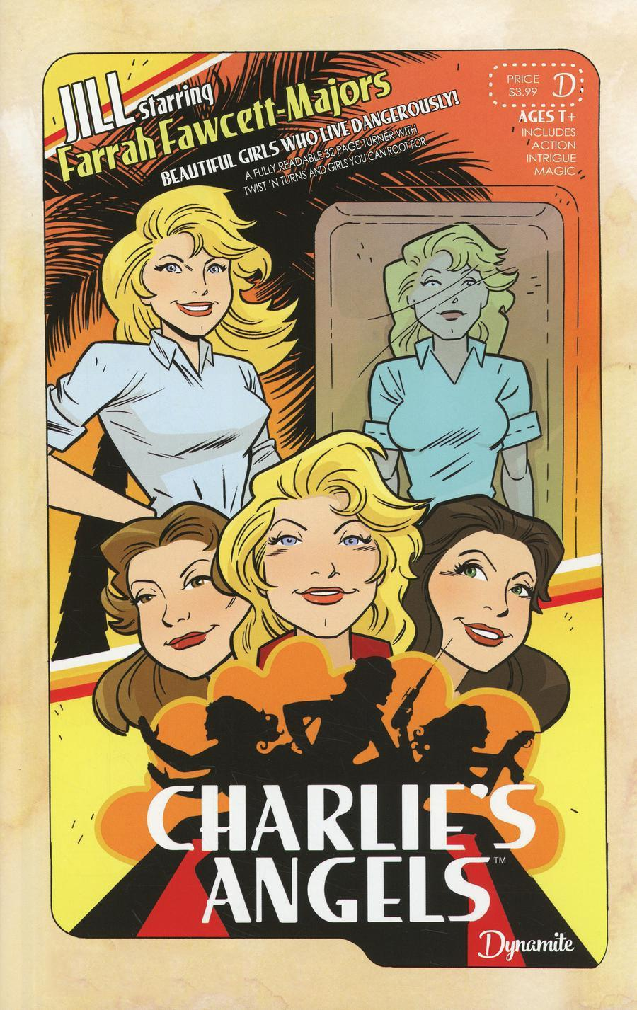 Charlies Angels #1 Cover H Variant SDCC 2018 Exclusive Color Cover
