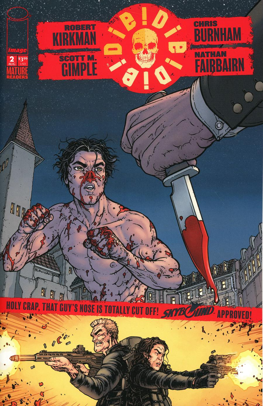 Die Die Die #2 Cover A No Text