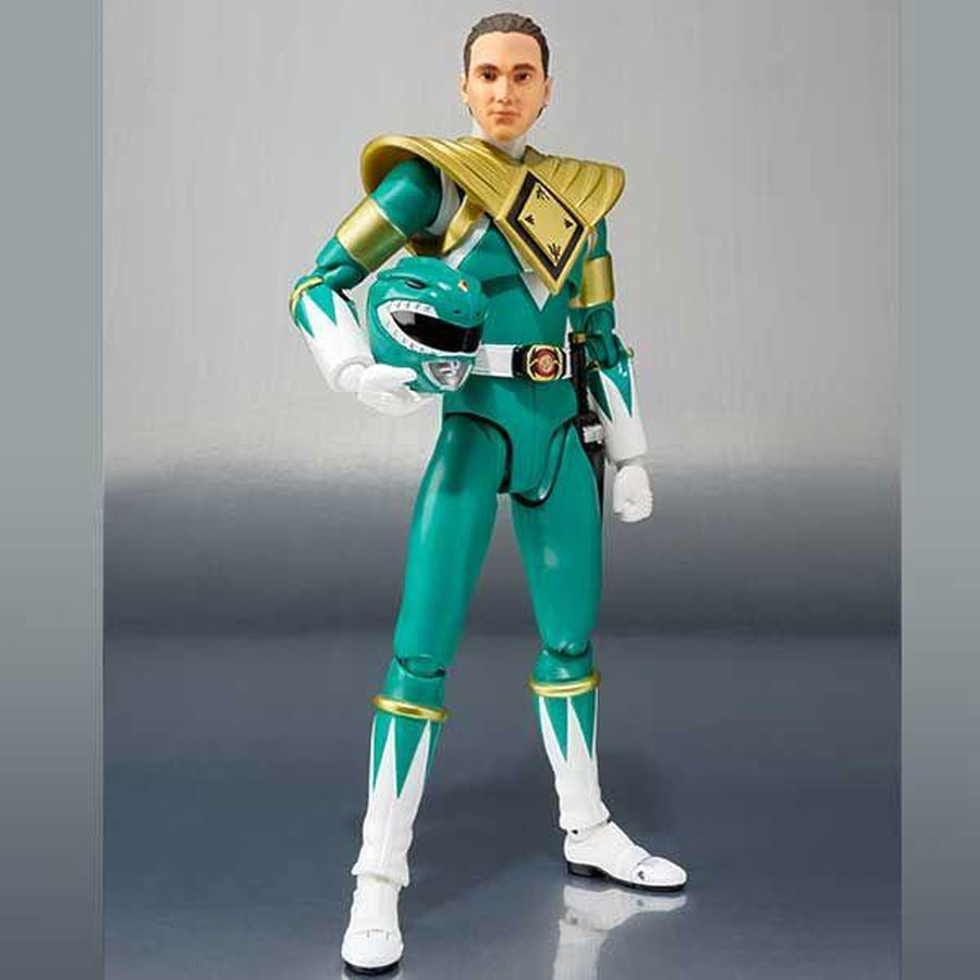 Sabans Power Rangers S. H. Figuarts - Green Ranger Event Exclusive Action Figure
