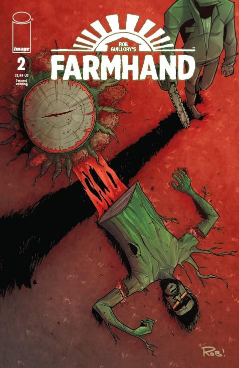 Farmhand #2 Cover B 2nd Ptg Variant Rob Guillory Cover