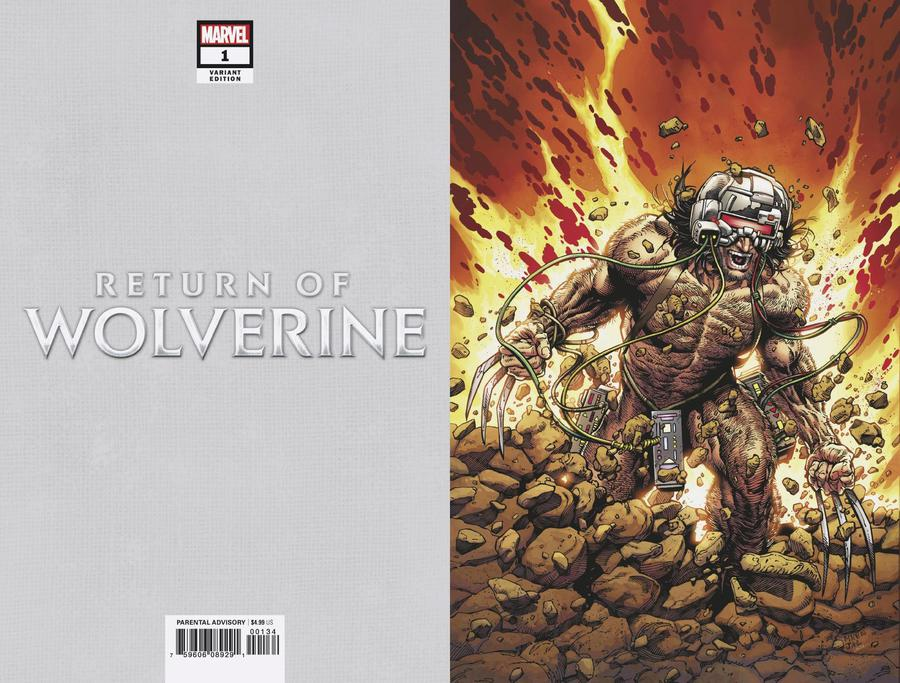 Return Of Wolverine #1 Cover U Incentive Steve McNiven Weapon X Costume Virgin Variant Cover