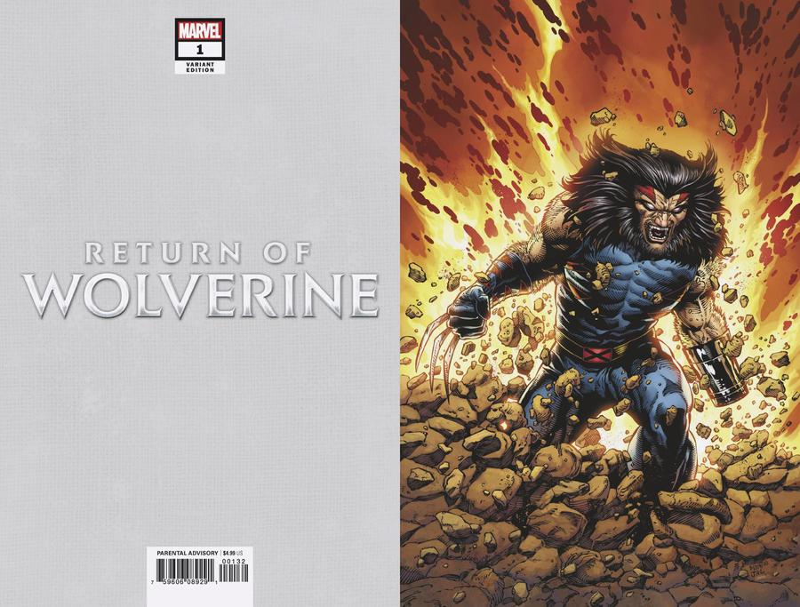Return Of Wolverine #1 Cover V Incentive Steve McNiven Age Of Apocalypse Costume Virgin Variant Cover
