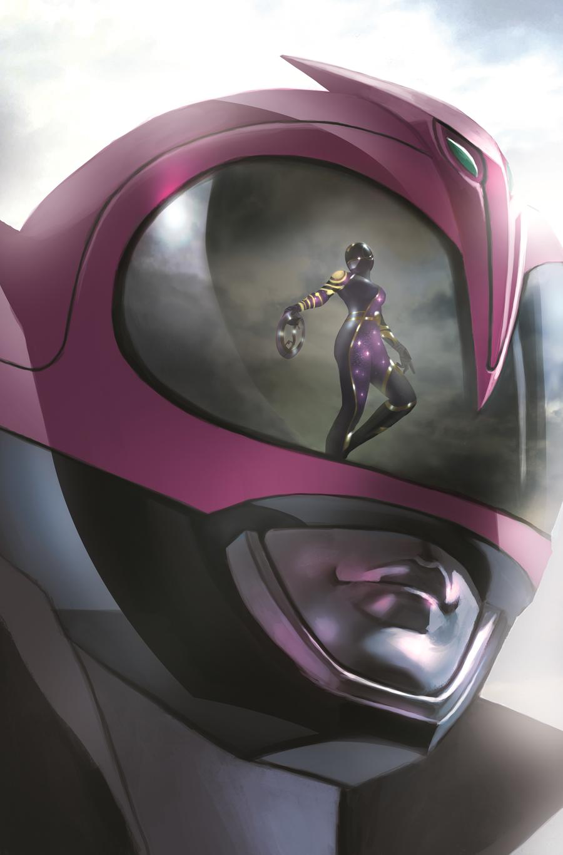 Mighty Morphin Power Rangers (BOOM Studios) #31 Cover C Variant Miguel Mercado Cover