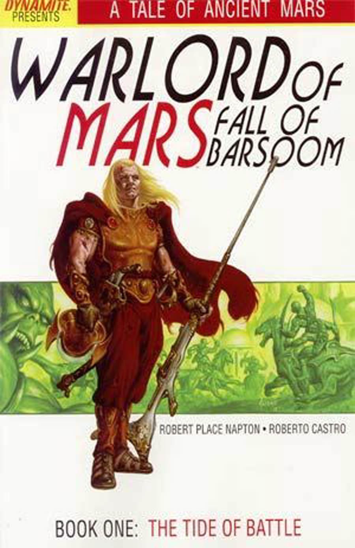 Warlord Of Mars Fall Of Barsoom #1 Cover A Regular Joe Jusko Cover