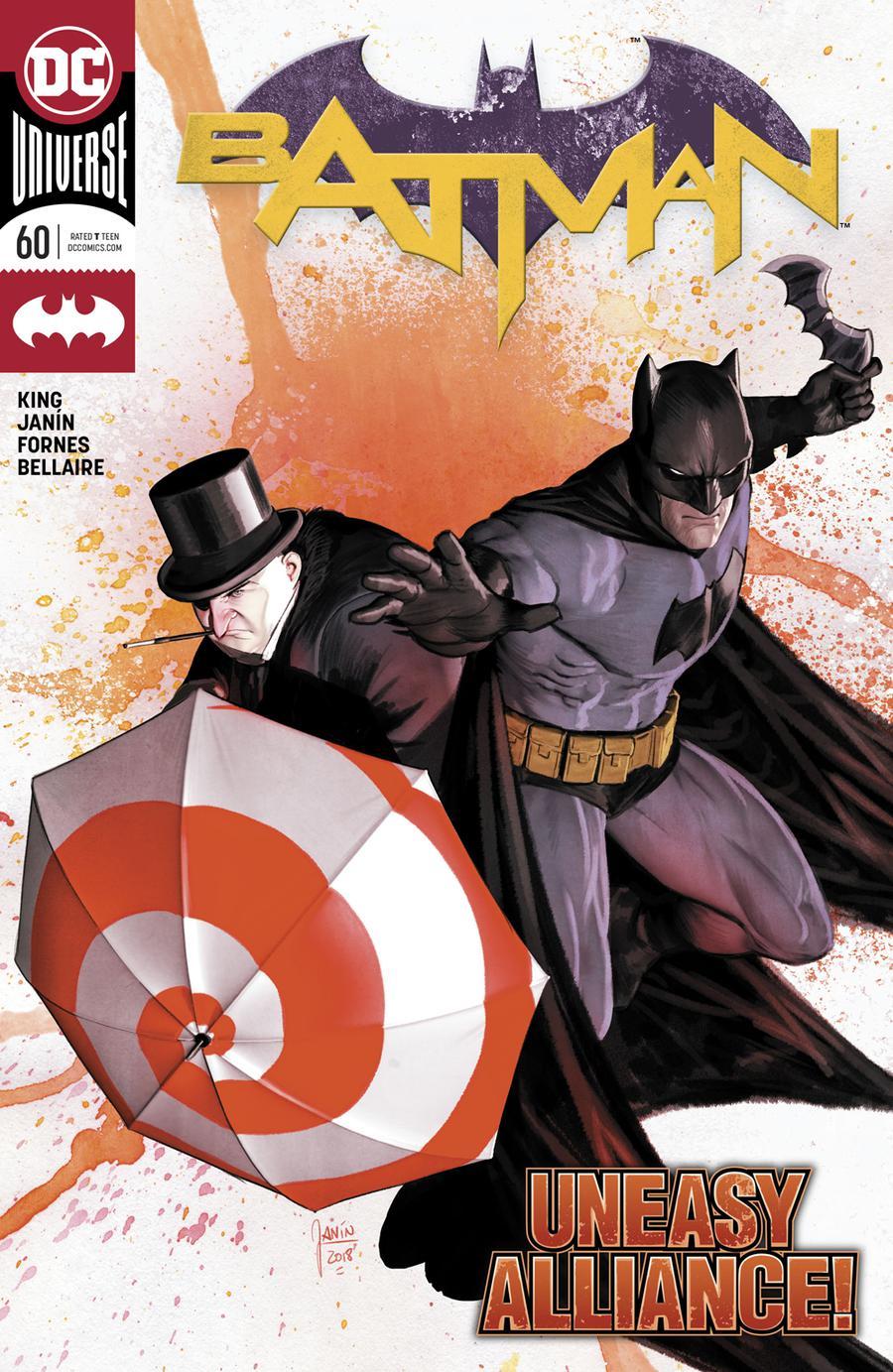 Batman Vol 3 #60 Cover A Regular Mikel Janin Cover