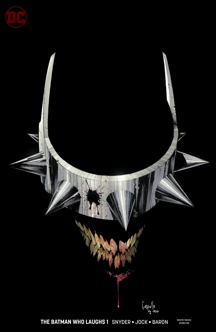Batman Who Laughs #1 Cover B Variant Greg Capullo Cover