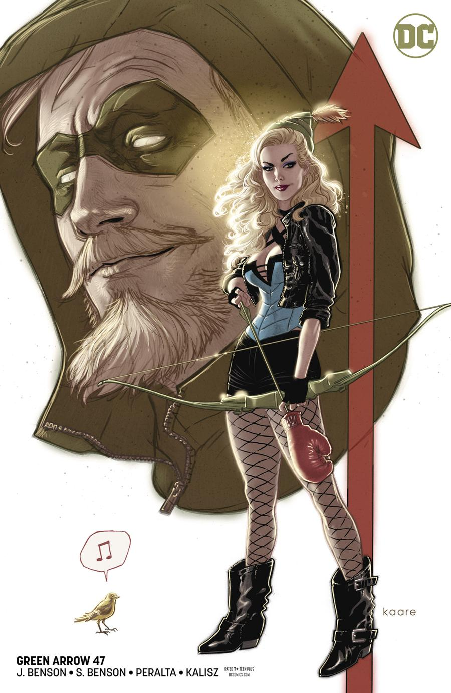 Green Arrow Vol 7 #47 Cover B Variant Kaare Andrews Cover