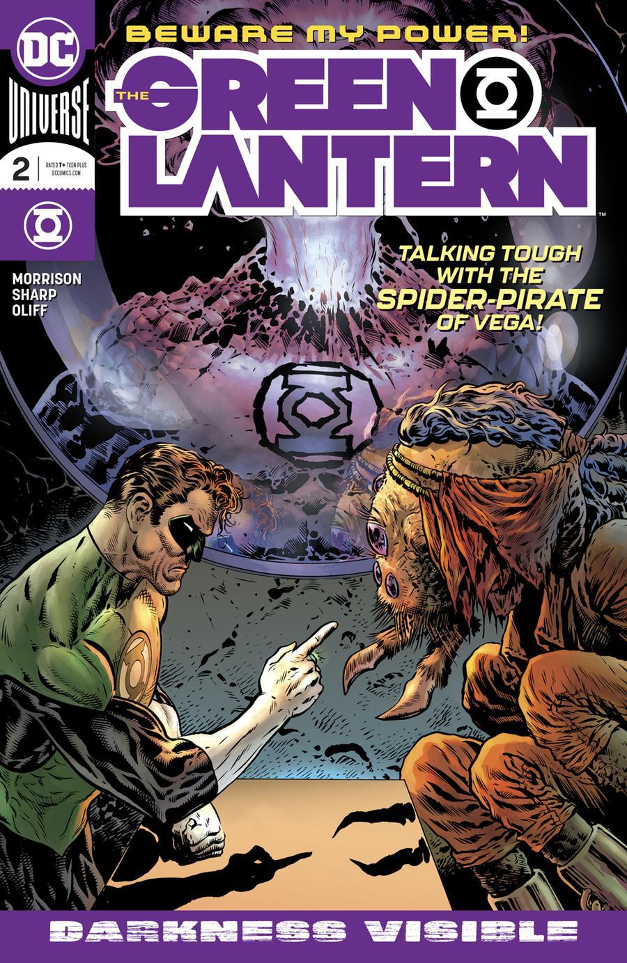 Green Lantern Vol 6 #2 Cover A Regular Liam Sharp Cover