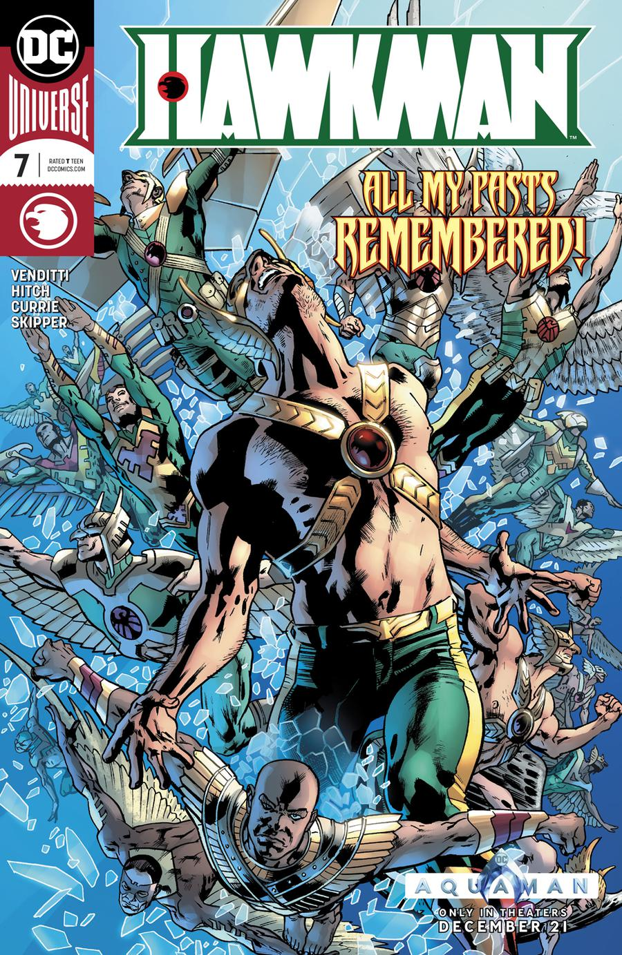Hawkman Vol 5 #7 Cover A Regular Bryan Hitch Cover