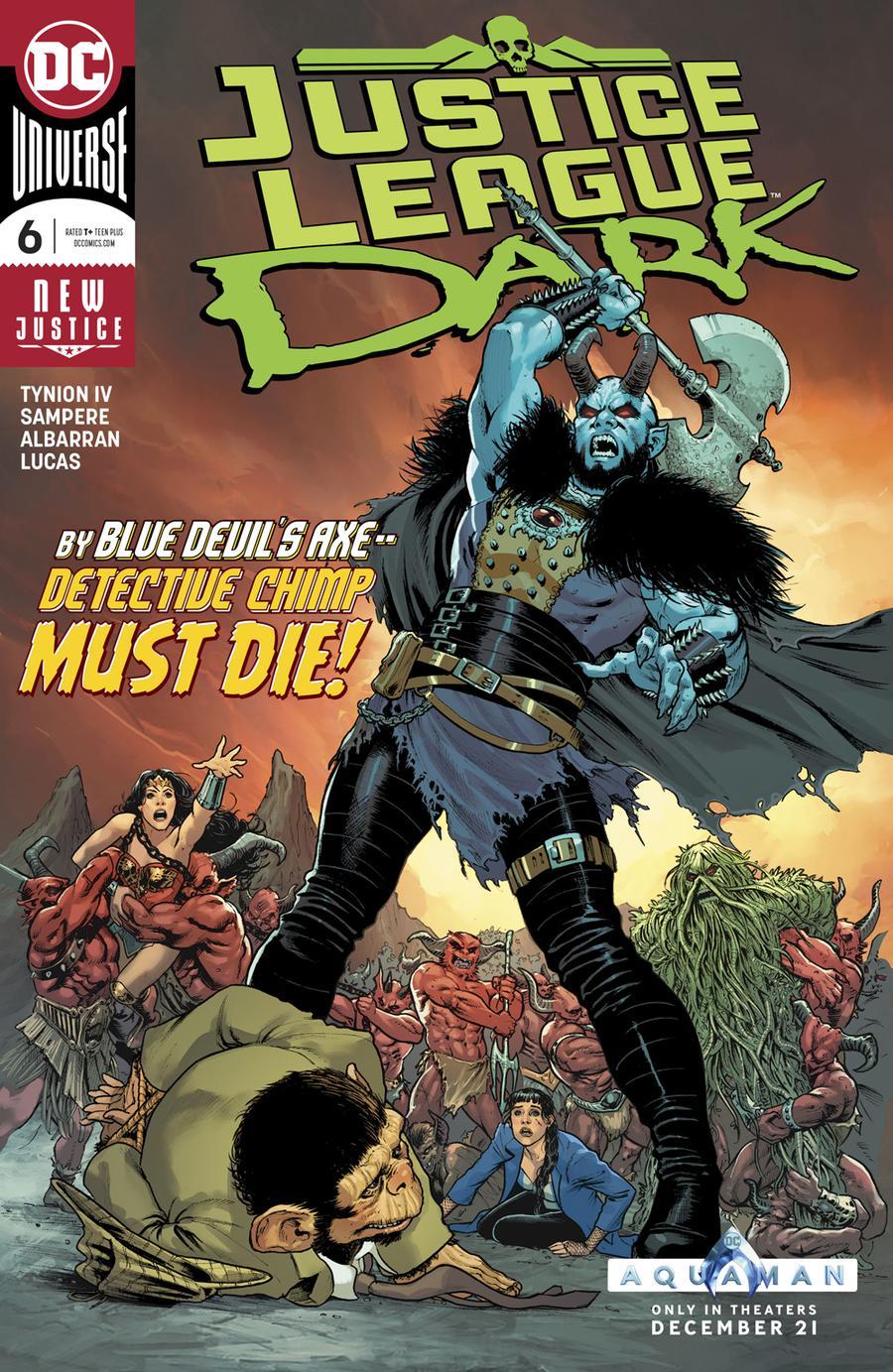 Justice League Dark Vol 2 #6 Cover A Regular Nicola Scott Cover
