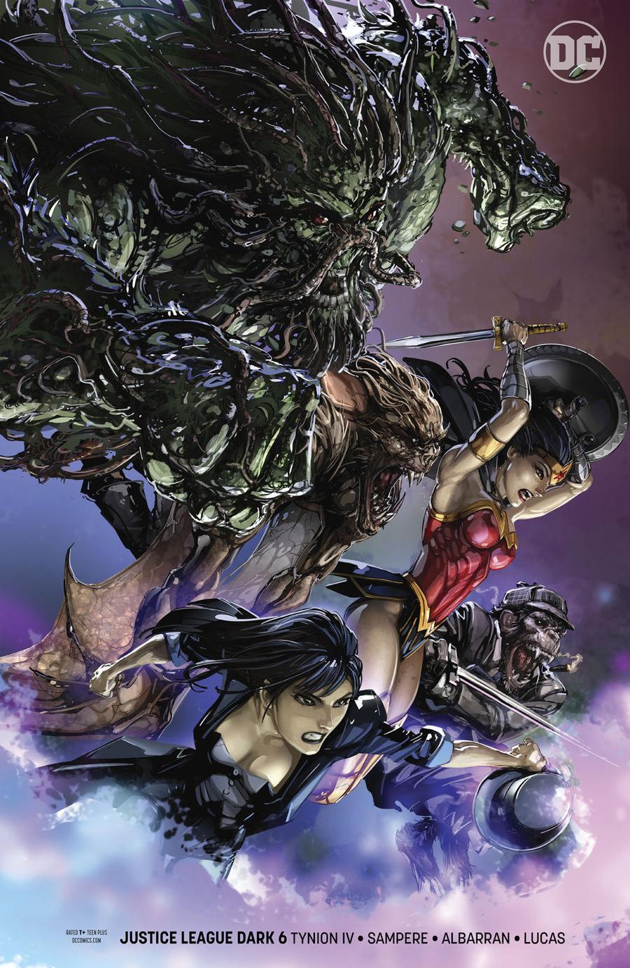Justice League Dark Vol 2 #6 Cover B Variant Clayton Crain Cover