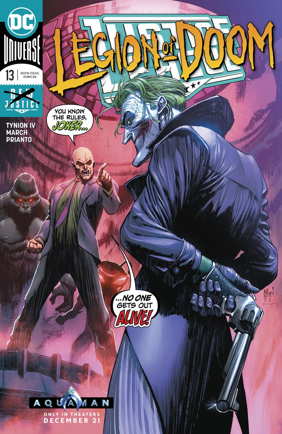 Justice League Vol 4 #13 Cover A Regular Guillem March Cover