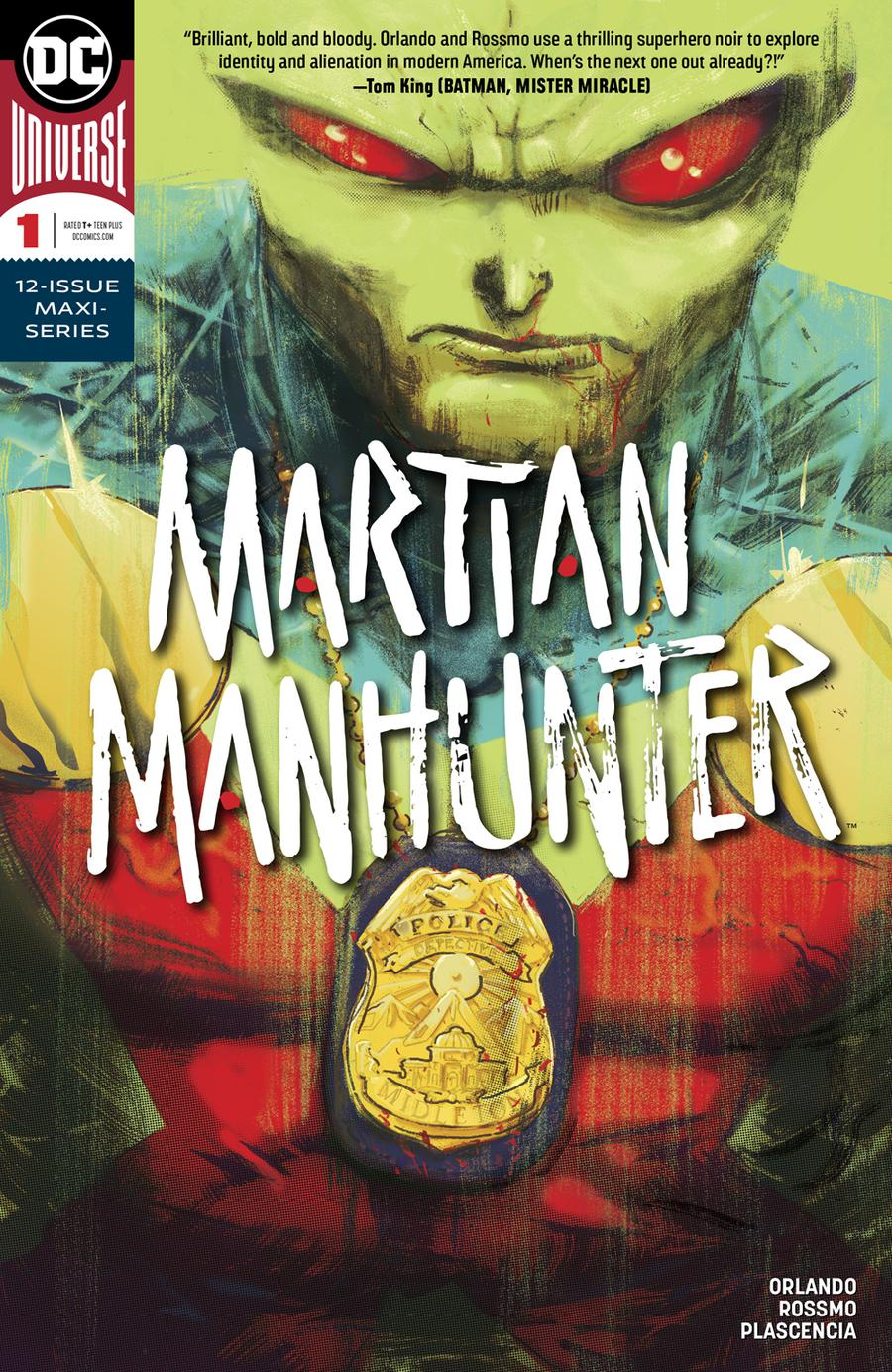 Martian Manhunter Vol 5 #1 Cover A Regular Riley Rossmo Cover