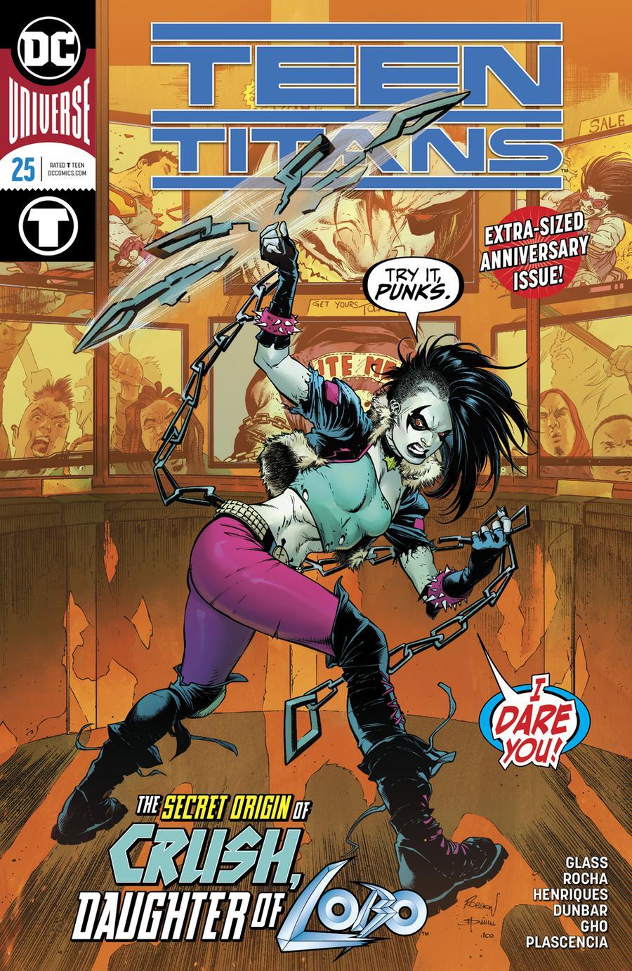 Teen Titans Vol 6 #25 Cover A Regular Robson Rocha Cover
