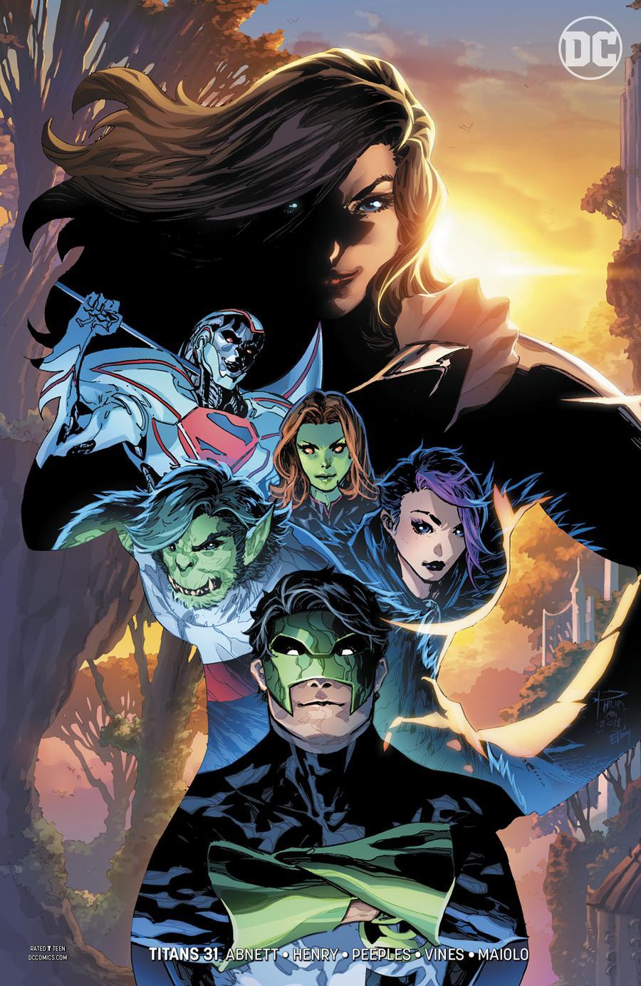 Titans Vol 3 #31 Cover B Variant Philip Tan Cover