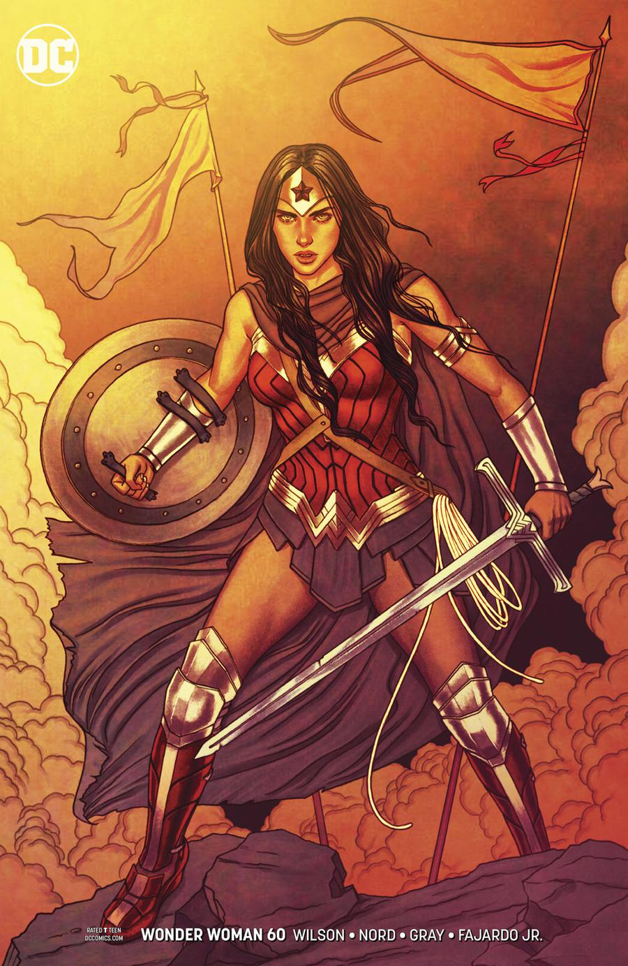 Wonder Woman Vol 5 #60 Cover B Variant Jenny Frison Cover