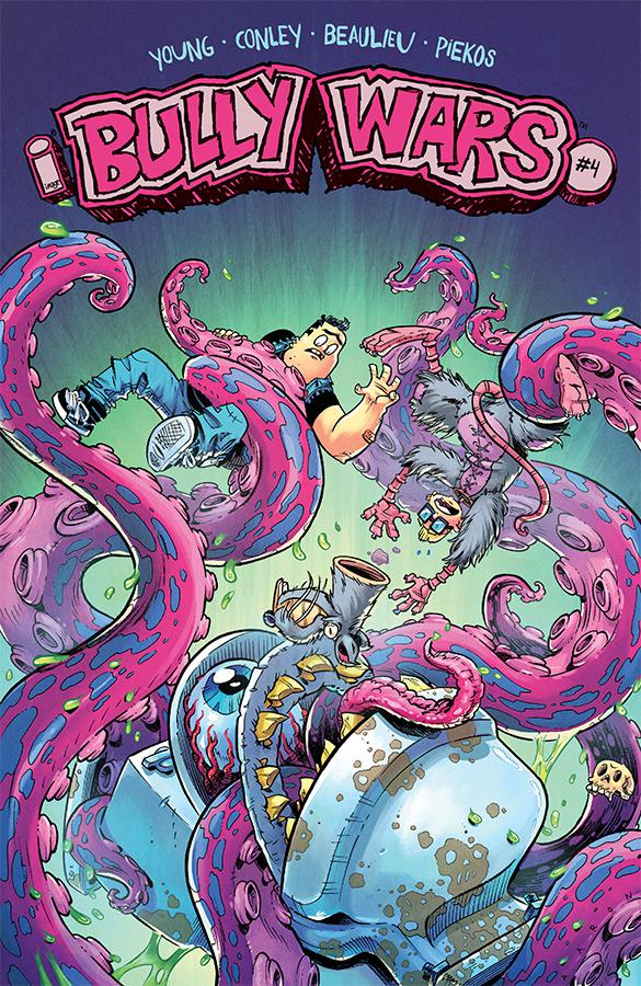 Bully Wars #4 Cover A Regular Aaron Conley Cover