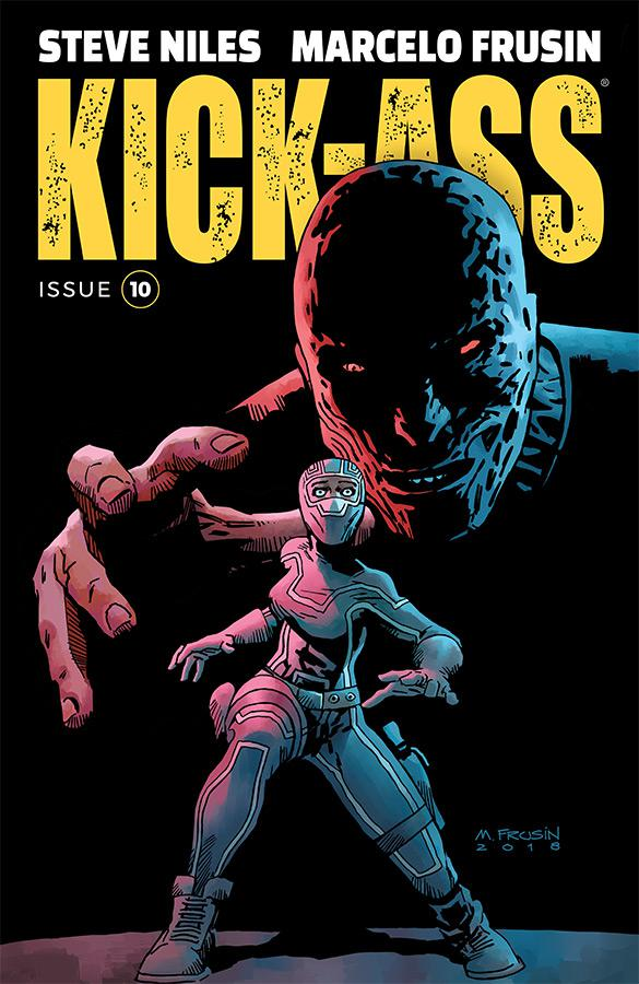 Kick-Ass Vol 4 #10 Cover A Regular Marcelo Frusin Color Cover