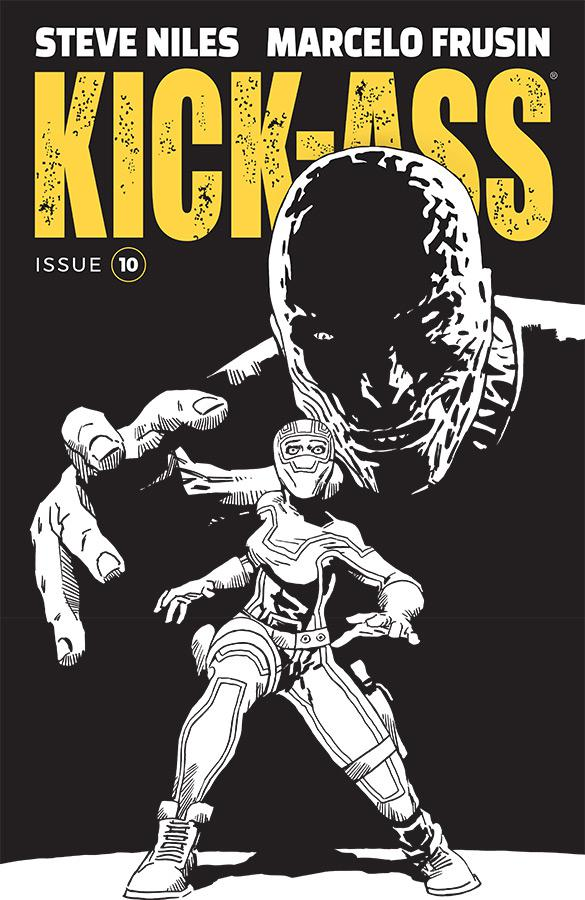 Kick-Ass Vol 4 #10 Cover B Variant Marcelo Frusin Sketch Cover