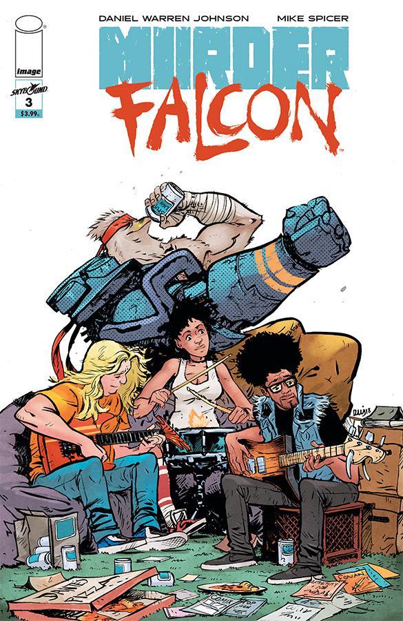 Murder Falcon #3 Cover A Regular Daniel Warren Johnson & Mike Spicer Cover