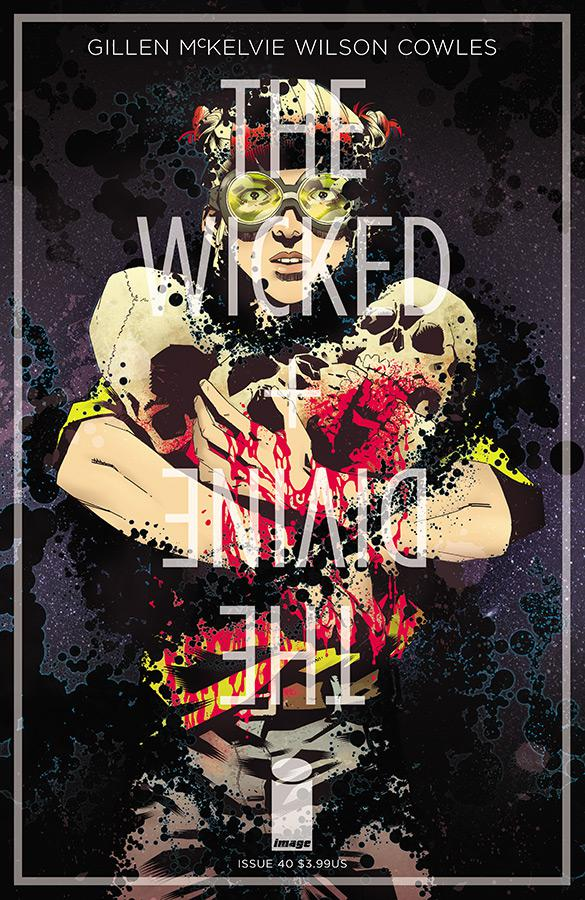 Wicked + The Divine #40 Cover B Variant Claire Roe Cover