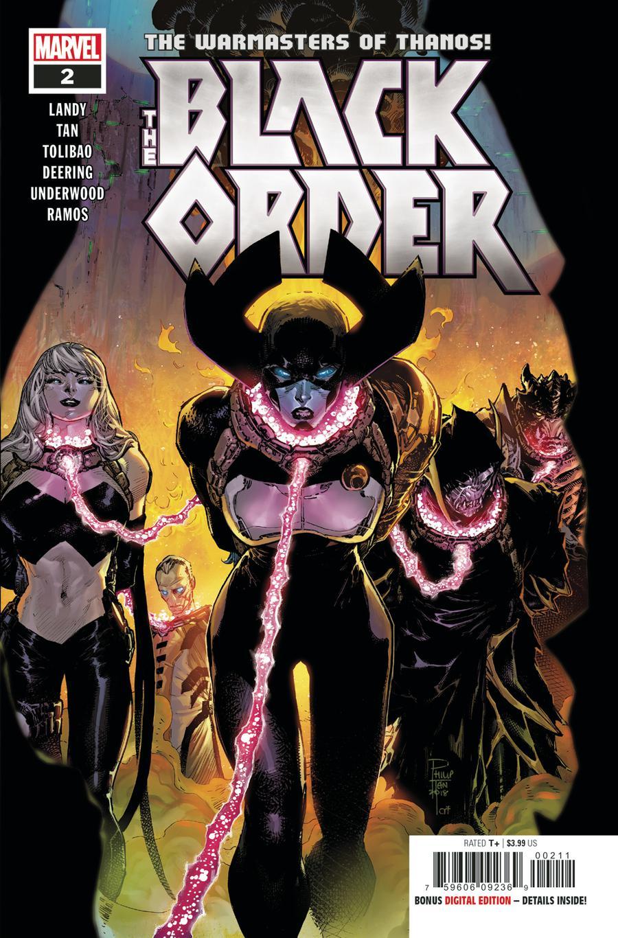 Black Order #2 Cover A Regular Philip Tan Cover