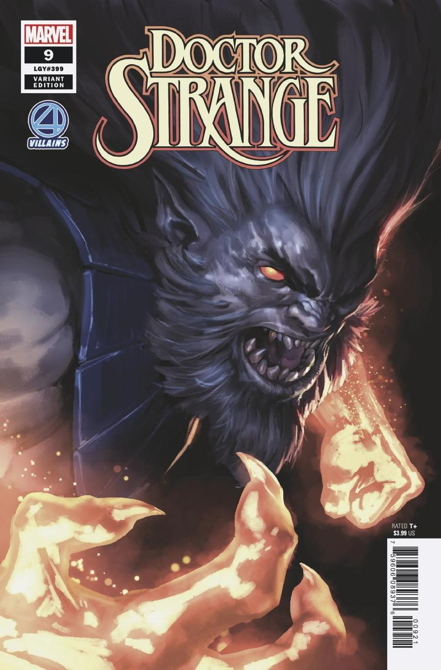 Doctor Strange Vol 5 #9 Cover B Variant Marko Djurdjevic Fantastic Four Villains Cover