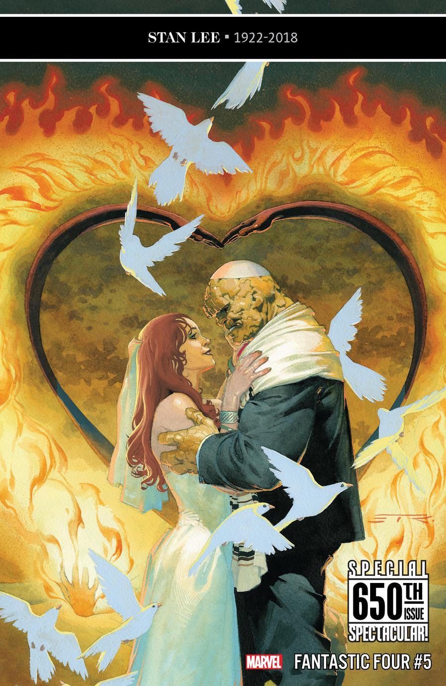 Fantastic Four Vol 6 #5 Cover A Regular Esad Ribic Cover