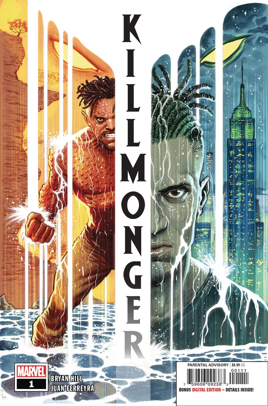 Killmonger #1 Cover A 1st Ptg Regular Juan Ferreyra Cover