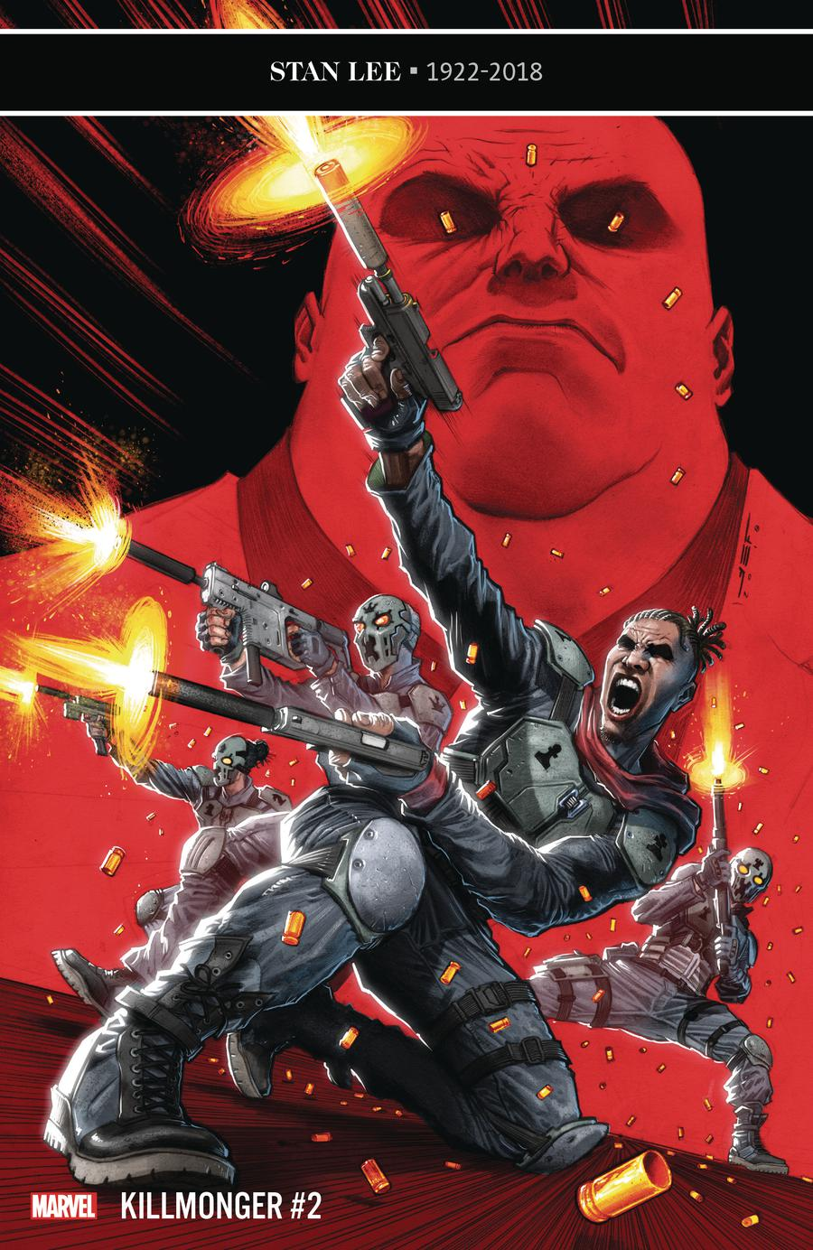 Killmonger #2 Cover A Regular Juan Ferreyra Cover