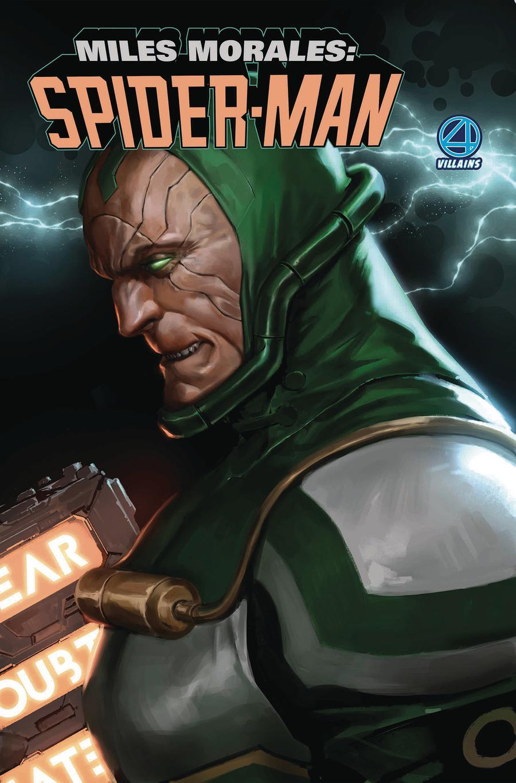 Miles Morales Spider-Man #1 Cover B Variant Marko Djurdjevic Fantastic Four Villains Cover (Spider-Geddon Tie-In)