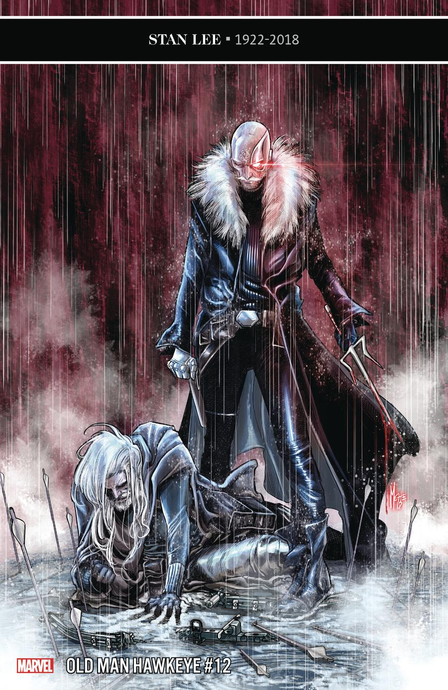 Old Man Hawkeye #12 Cover A Regular Marco Checchetto Cover