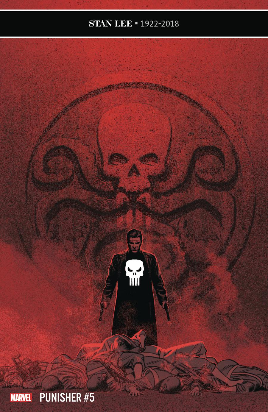 Punisher Vol 11 #5 Cover A Regular Greg Smallwood Cover