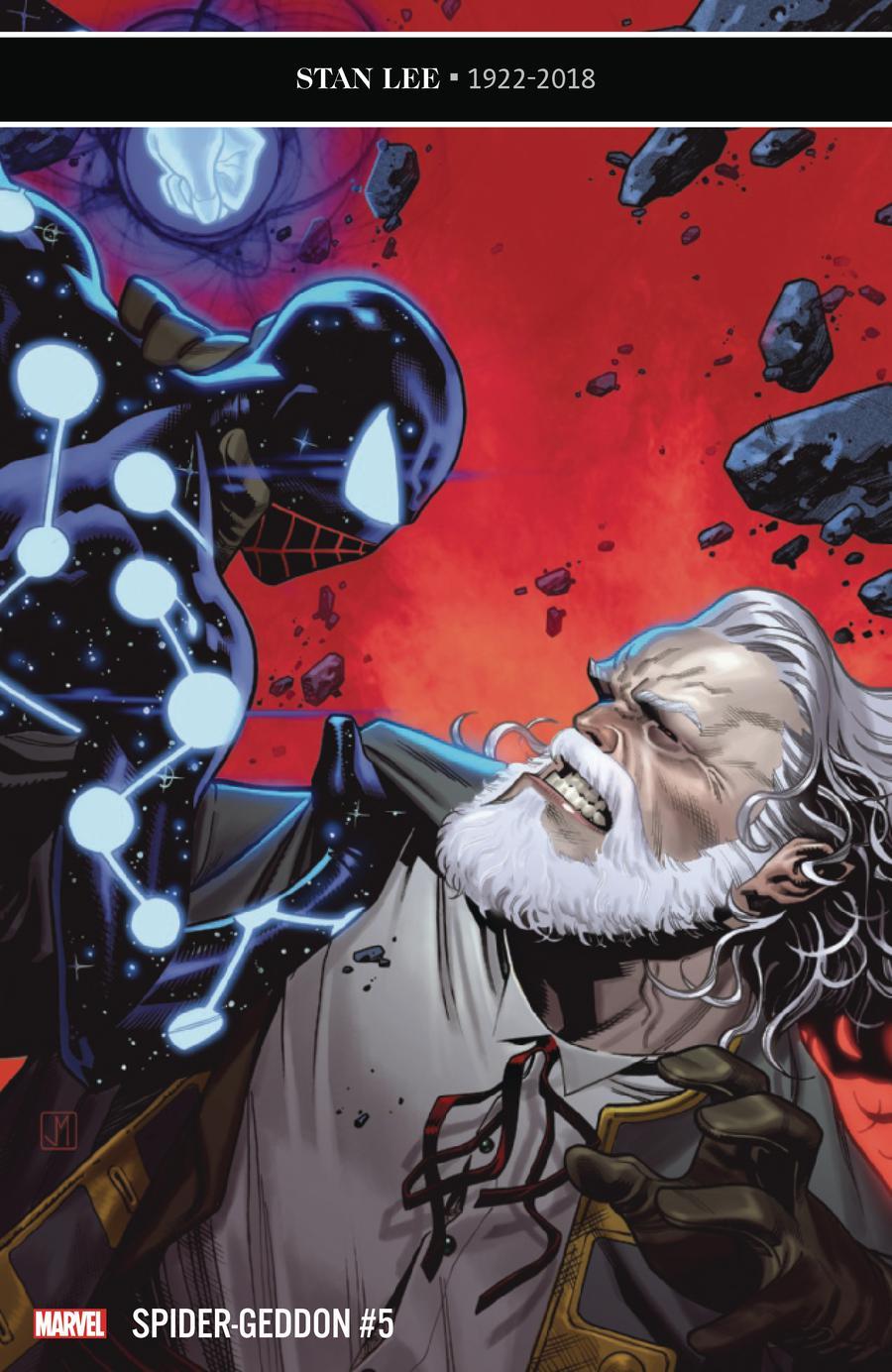 Spider-Geddon #5 Cover A Regular Jorge Molina Cover